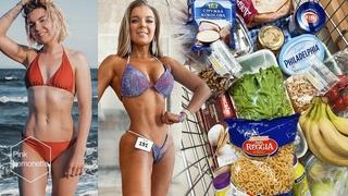 Набор мышечной массы для девушек. Питание для массонабора