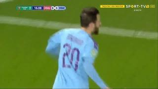Bernardo Silva Goal Manchester United vs Manchester City  0-1