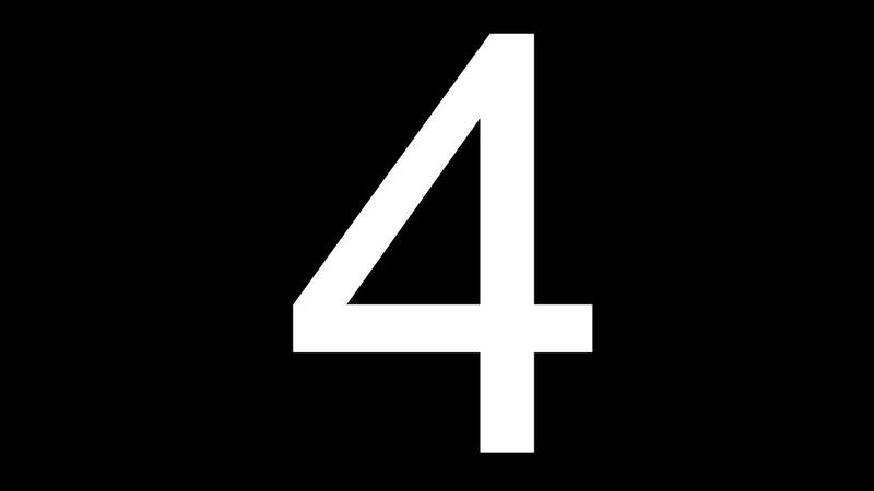 Обзор на цифру 4