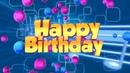 ФУТАЖ Happy Birthday