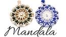Colgante Mandala con cuentas Bar Superduo y Miyuki