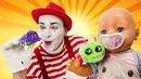 Смешные видео для детей – БЕБИ БОН и Паучок! Новый друг для куклы! – Лучшие игры с Baby Bon