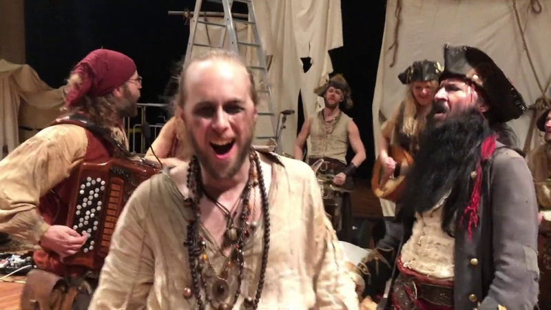 YE BANISHED PRIVATEERS Acoustic Session NapalmSofaSeries Napalm Records
