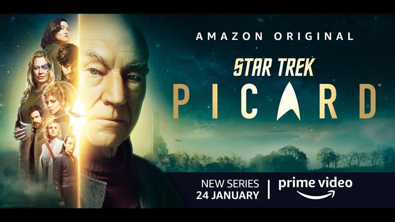 Звёздный путь Пикар 1 сезон Star Trek Picard 2020 США Фантастика Возраст 16