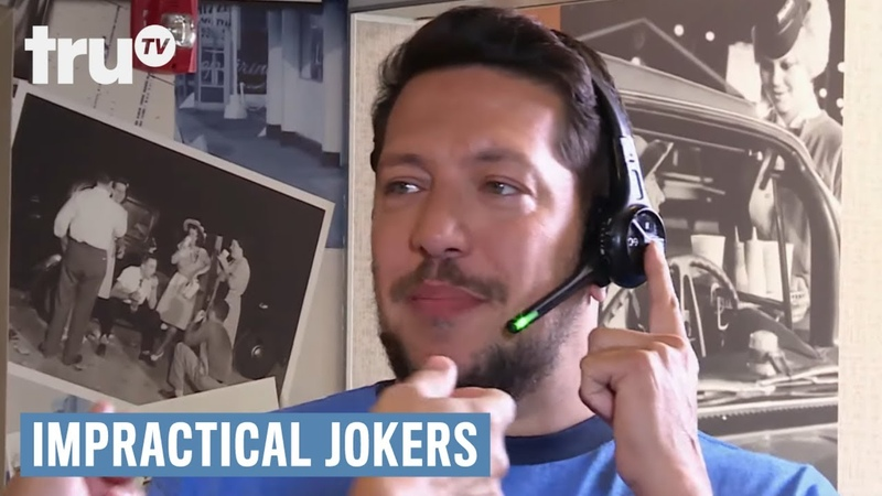 Impractical Jokers Can Sal Take Your Order Punishment truTV