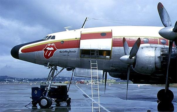 Звездный транспорт. Старый и современный гастрольные самолеты группы The Rolling Stones