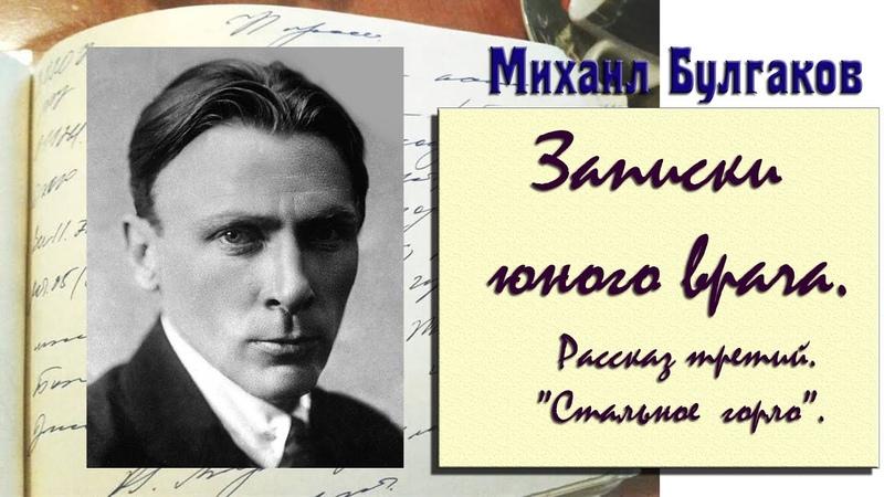 Записки юного врача Стальное горло М Булгаков