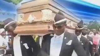 Похороны Обратного Флеша | Негры несут гроб