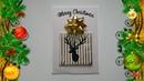 Handmade Happy New Year 2020 Card Idea DIY Christmas cards NinTe DIY