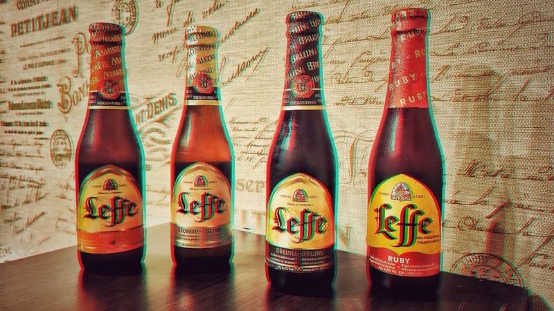18 Leffe Ruby Brune Blond Ambree Бельгийское пиво Beer Case