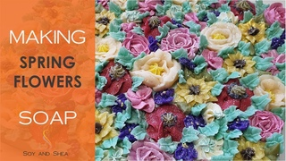 Spring Flowers Confetti Soap PLUS my thoughts on Spring Cleaning
