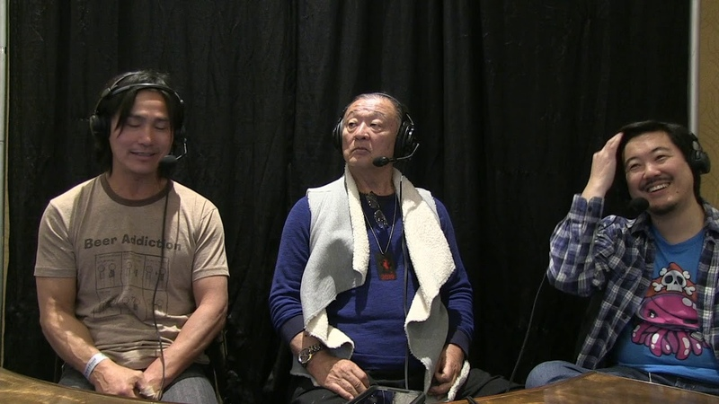 CCGX Interview by James Chen with Robin Shou and Cary Hiroyuki Tagawa