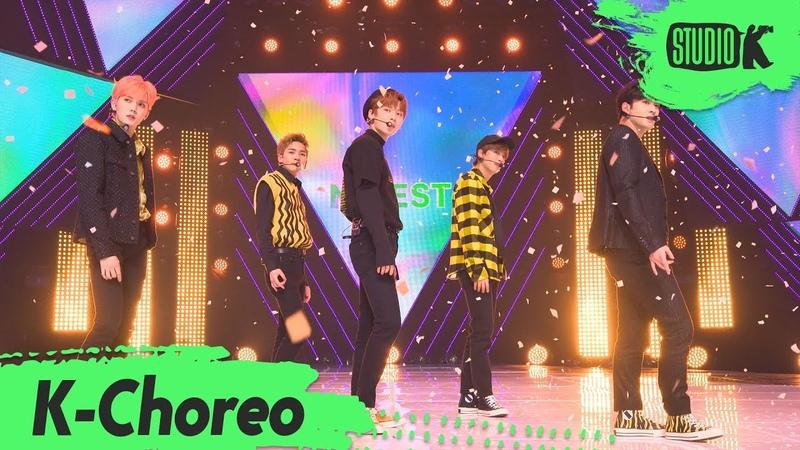 K Choreo 4K 뉴이스트 직캠 'LOVE ME' NU'EST Choreography l @MusicBank 191101