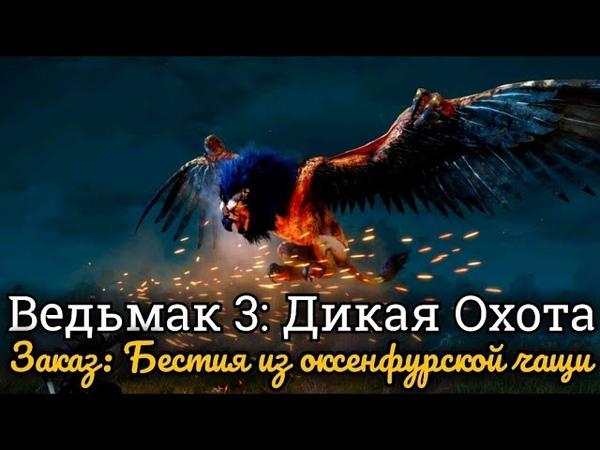 Ведьмак 3: Дикая Охота. Заказ: Бестия из оксенфурской чащи
