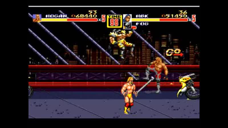 Streets of Rage Hacks Hulk Hogan Wolverine Shawn Michaels TMNT Bosses Mistress Улицы Ярости хаки Халк Хоган Росомаха 11DeadFace