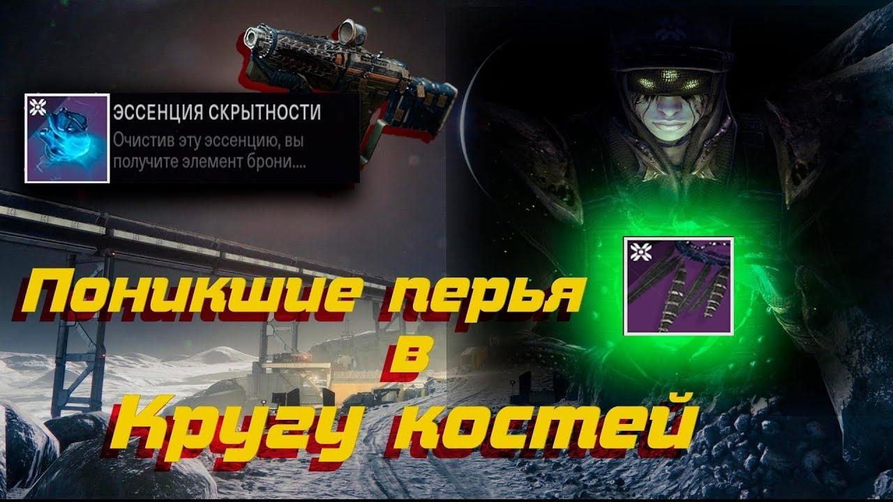 Destiny 2: Поиск «Поникших перьев»