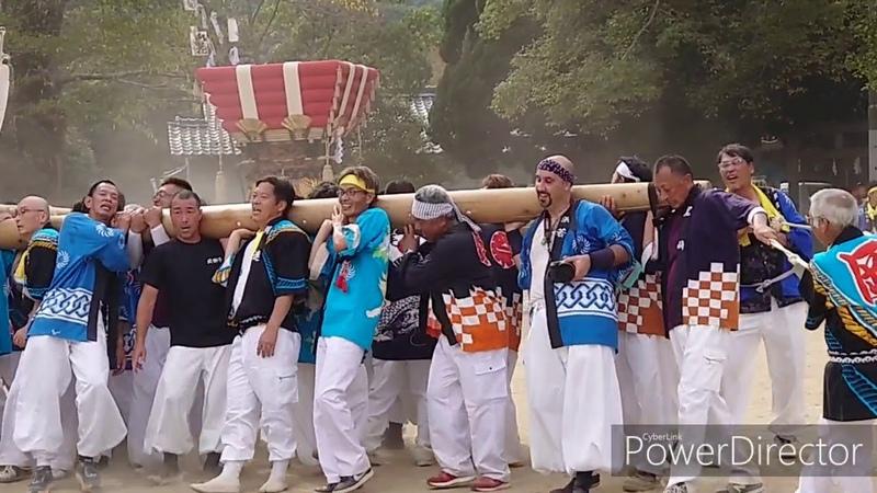小豆島祭 2019年10月11日 福田祭 Мацури