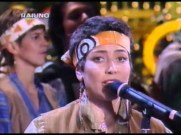 Sanremo 95 - Troppo sole - Sabrina Guzzanti e la riserva indiana
