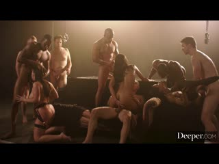 Deeper Angela White, Emily Willis And Kira Noir