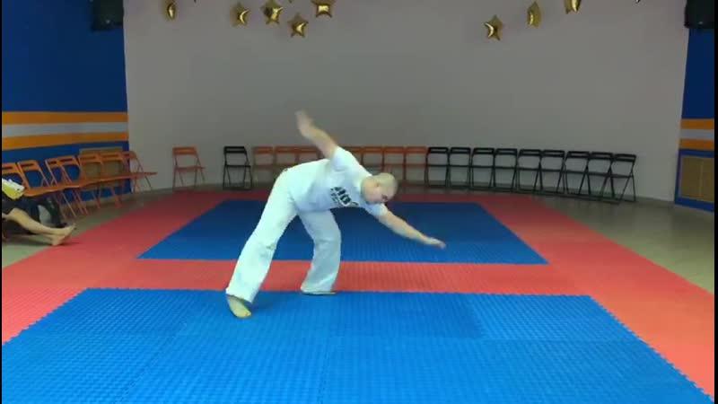 Instrutor Ativo RDA capoeira mestre Balu/
