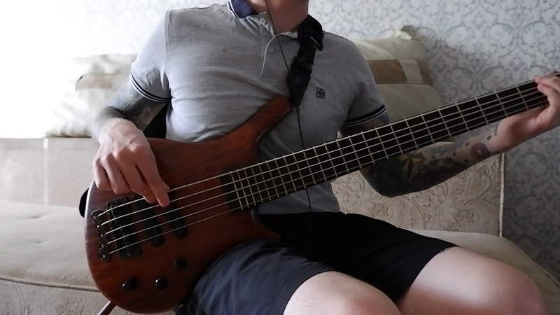 BASS COVER Korn black is the soul