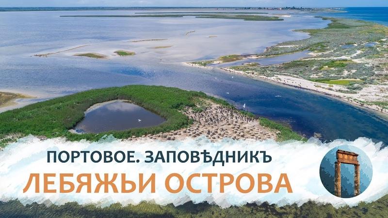 Таврида 4K Портовое Заповѣдникъ Лебяжьи острова