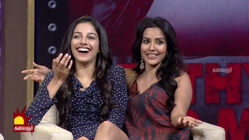 Adithya Varma Movie Team Interview   Dhruv Vikram   Vikram   Banita Sandhu   Kalaignar TV   Part 2