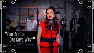 """""""Girl All The Bad Guys Want"""" (Bowling for Soup) Swing Cover by Robyn Adele Anderson"""