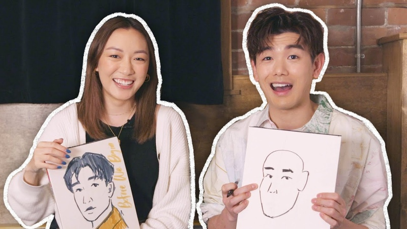 Teaching Eric Nam How to Draw a Self Portrait