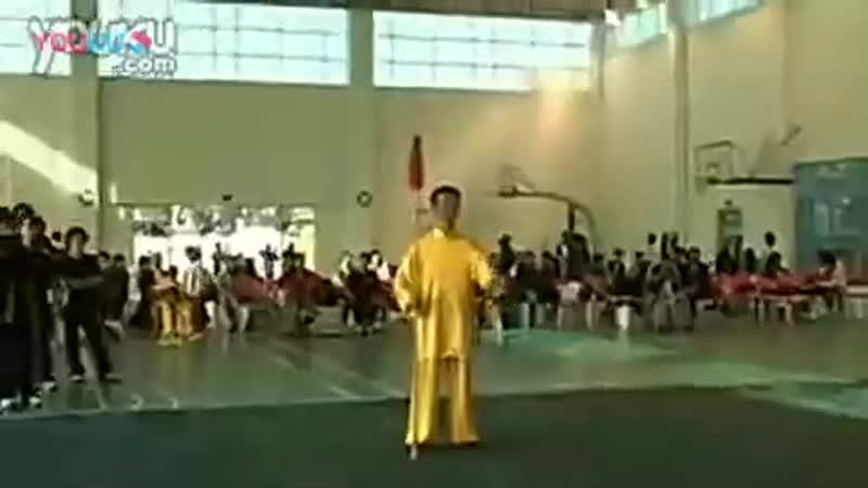 Се Чжендан Дан Сян. Демонстрация 24 формы с копьем У Стиля Тайцзицюань (в традиции Ма Юэляна)