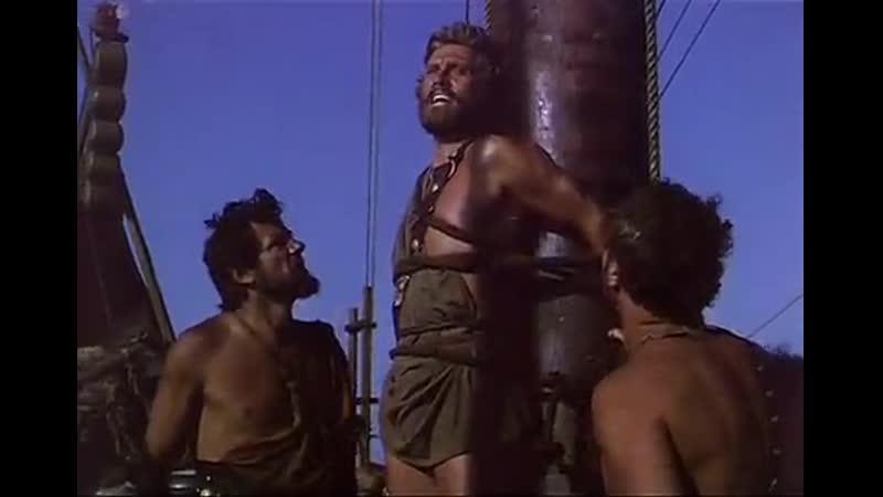 Приключения Одиссея 1955 с Кирком Дугласом Обрезка 01