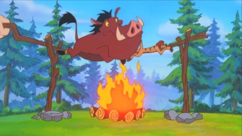 Король лев Тимон и Пумба Сезон 3 Серия 33 Шпионские штучки Внимание целься огонь