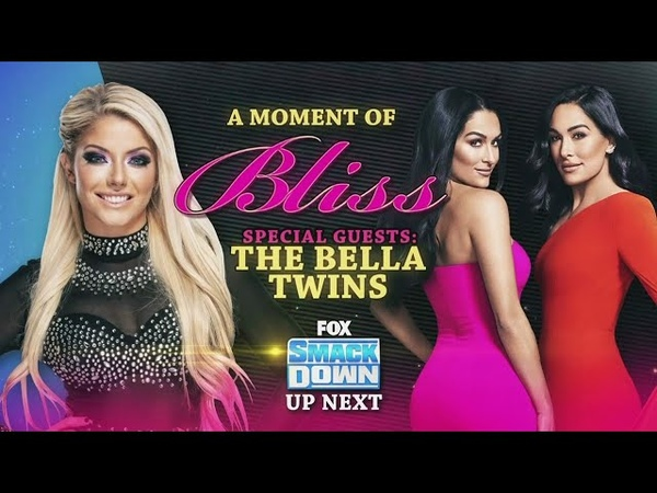Video@alexablissdaily SmackDown Feb 21 2020 A Moment Of Bliss with The Bella Twins