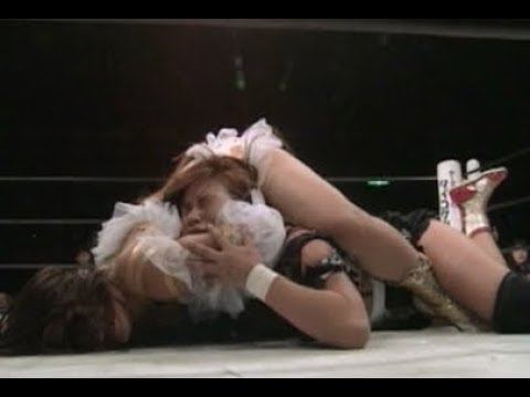 Cuty Suzuki Dynamite Kansai c vs Hikari Fukuoka JWP KAORU Gaea Japan