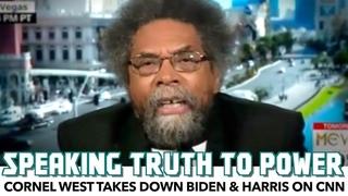 Cornel West Takes Down Joe Biden & Kamala Harris On CNN