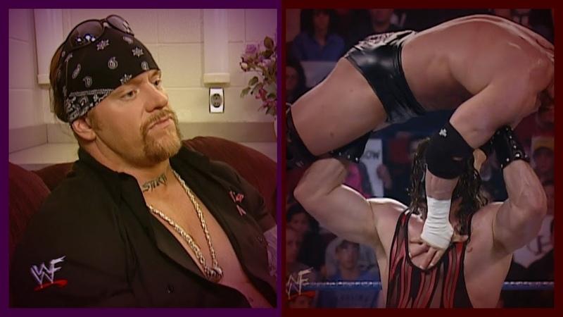 Kane vs Triple H The Big Show (Triple H Big Show Destroy The Undertaker Kane) 3/22/01 [1/2]