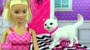 Кукла Барби с кошкой Писает Какает Играет Мультик Новые серии Обзор Распаковка игрушки