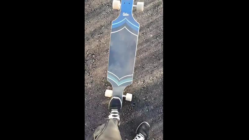 Lesson how to chill longboard ridex hermosa