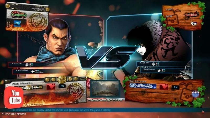 Best Bout Replays Tekken 7 - Mephistophillys vs worgeni