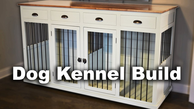 Building a Custom Indoor Dog Kennel