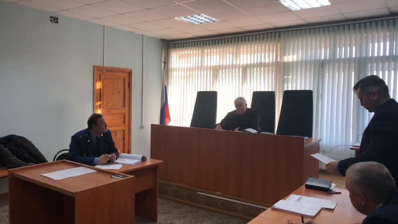 Судебное заседание по делу Александра Мурнина