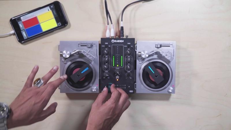 Crosley RSD3 Battery Powered 3 Turntable Demo featuring DJ Manwell DJ Ceebrown