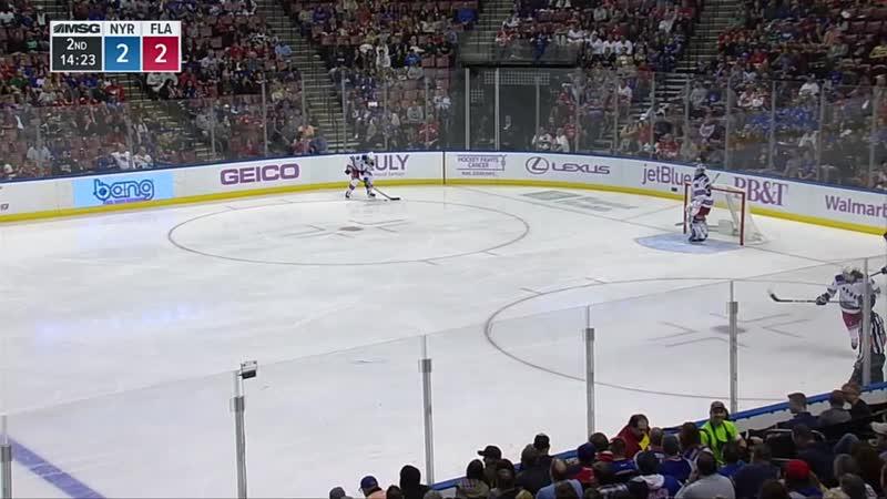 НХЛ (19-20). Четырнадцатая результативная передача Артемия Панарина в сезоне 2019-2020.