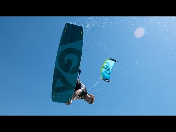 DJI Ronin-S - Caribbean Kitesurfing 4K
