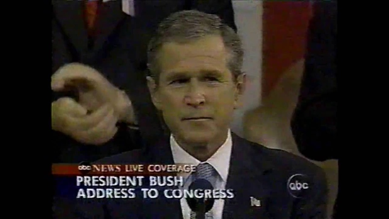 9 11 President Bush's Address To Congress on September 20th 2001 ABC News