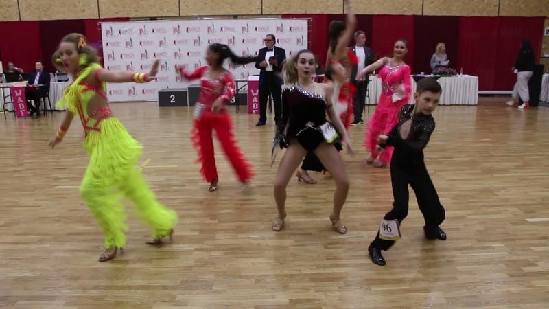 SALSA Junior 1 (SF) Artistic Dance Ball 2019