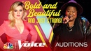 Injoy Fountain Makes a Bold Choice with Ariana Grande's 7 Rings The Voice Blind Auditions