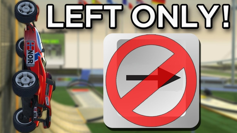 Can you beat Trackmania Nations Forever WITHOUT Steering Right