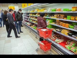 Торговые объекты, где продают товары первой необходимости, перестраивают свою работу