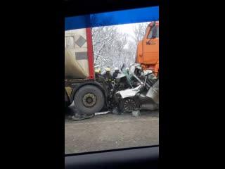 Авария на трассе Пермь - Нытва